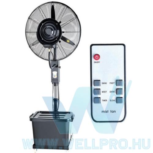 """PowerCool 76cm (30"""") távirányítós párásító ventilátor"""
